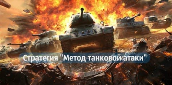 """alt="""" Стратегия-Метод танковой атаки"""""""