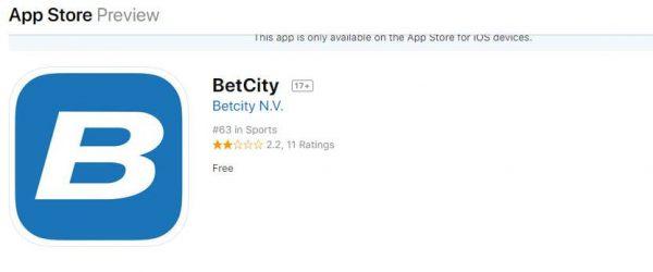Betcity скачать на iphone
