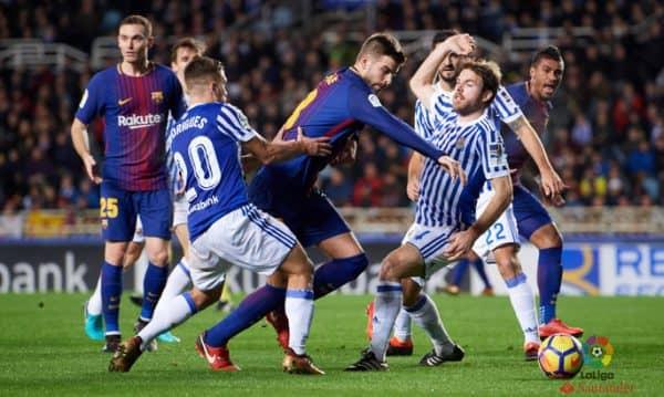 прогноз на матч Барселона-Реал Сосьедад